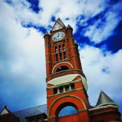 Jefferson County Courthouse Clocktower Port Townsend