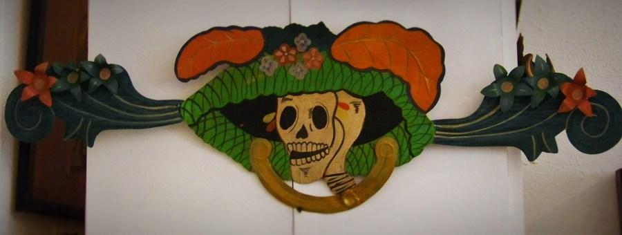 Katrina Tin Art Dia de los Muertes Cabo