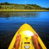 Kayaking on Quiliute River