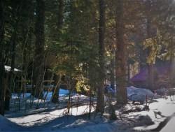 Leavenworth Cabin 1