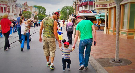 Taylor Family Mainstreet USA Disneyland 2