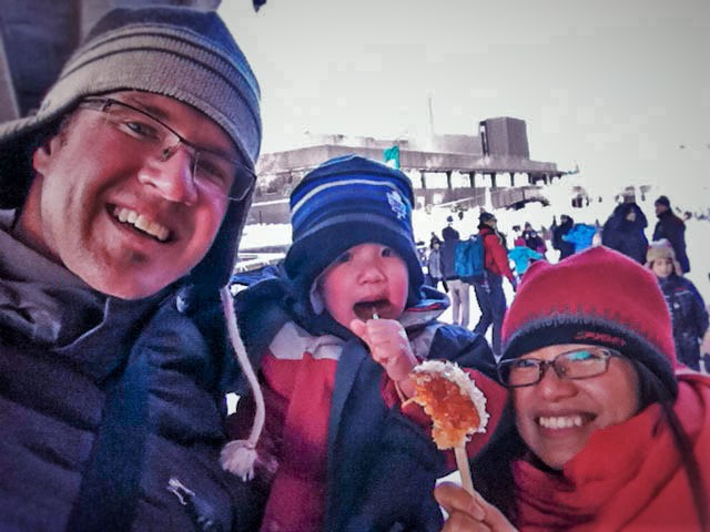 Maple Taffy Wagars Winterlude Ottawa