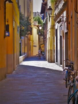 Narrow Street in Pisa 1