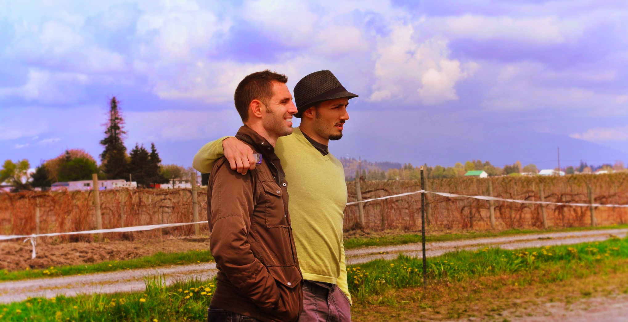 Rob and Chris Taylor in LaConner 1