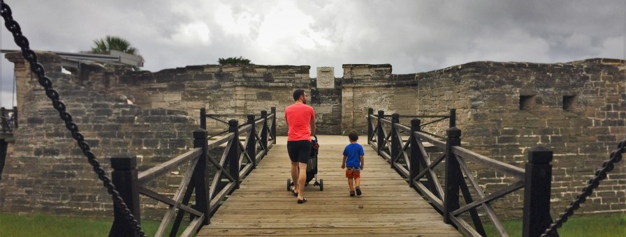 Draw Bridge at Castillo San Marcos St Augustine 1