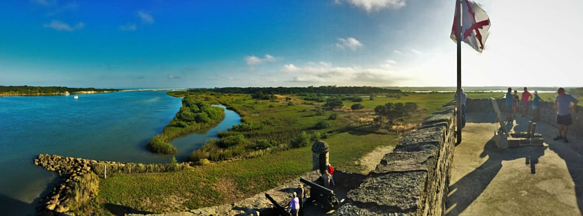 Fort Matanzas panoramic