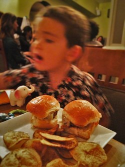 LittleMan with Beef Sliders Penthouse Lounge Casa Marina
