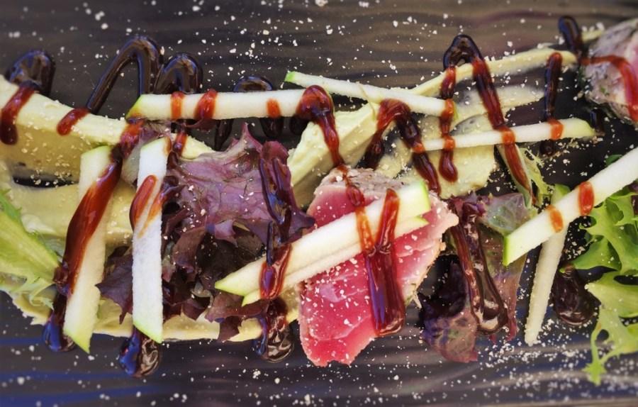 Seared Tuna at Echo Restaurant at King and Prince Resort St Simons GA 3