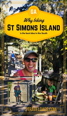 Biking St Simons pin