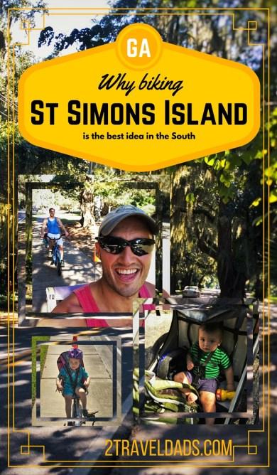 Biking St Simons pin