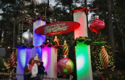 Christmas Decor at Stone Mountain Park in Atlanta Georgia 2