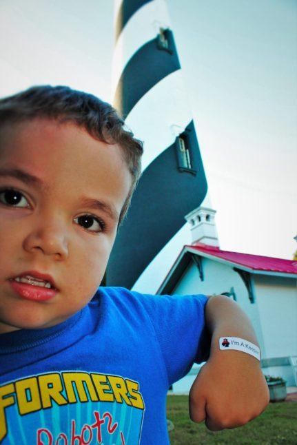 LittleMan at St Augustine Lighthouse 1