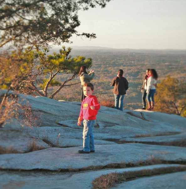 LittleMan on Stone Mountain Park in Atlanta Georgia 1