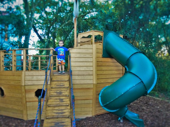 Playground at St Augustine Lighthouse