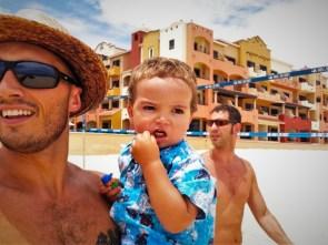 Taylor Family beach Playa Grande Cabo Mexico 1