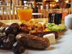 Breakfast in Kingfisher Dining Room at Sleeping Lady Resort Leavenworth WA 1