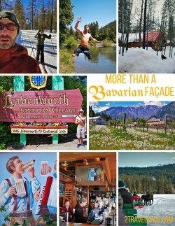 Whether it's for family travel or a couple's weekend getaway, Leavenworth, Washington is an amazing escape from Seattle. See what's so great about this faux-Bavarian town. 2traveldads.com