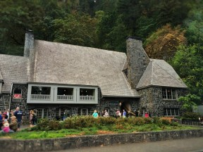Lodge at Multnomah Falls Columbia Gorge Oregon