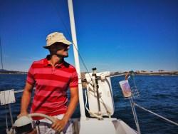 Rob Taylor Sailing Strait of Juan de Fuca Victoria BC 2traveldads.com