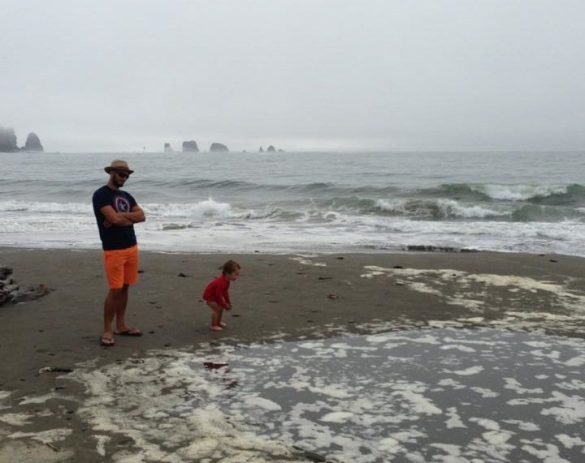 Rob Taylor and LittleMan La Push Olympic Peninsula