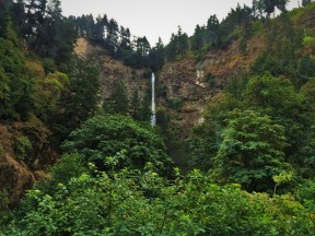 Summertime at Multnomah Falls Columbia Gorge Oregon
