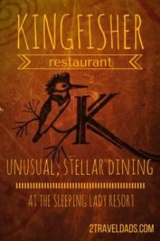 kingfisher restaurant pin