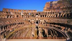 Colosseum Floor from WanderingWagars.com