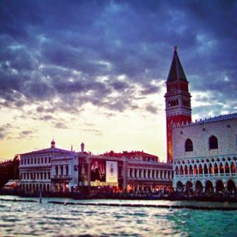 Doges Palace Sunset Venice