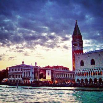 Doges Palace Sunset Venice