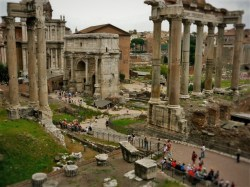 Forum of Caesar from WhereverIMayRoam.com