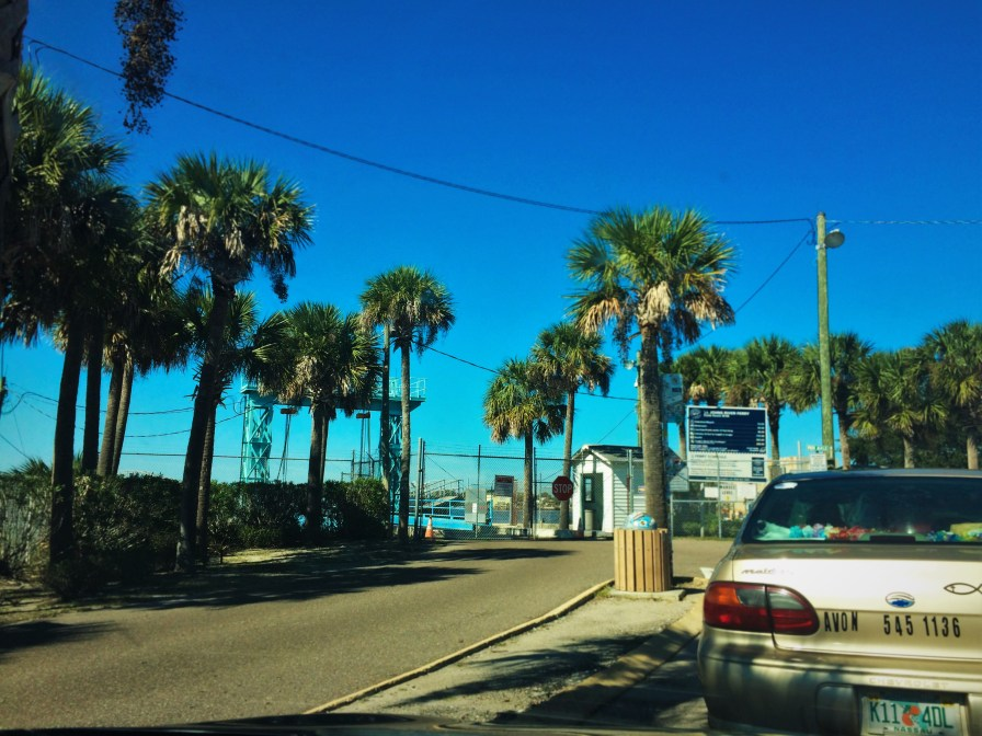Waiting at the St Johns River Ferry
