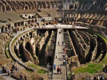 Interior of Colosseum from Lisa Truemper Scott 4