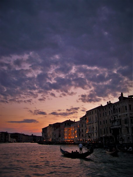 Venice Grand Canal Sunset 1