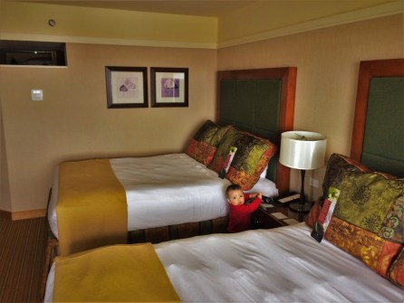 Delux room at Inverness Hotel Denver Colorado 1