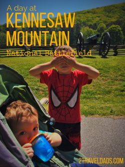 Kennesaw Mountain National Battlefield is a great day trip out of Atlanta with or without kids. History and Nature!!! 2traveldads.com