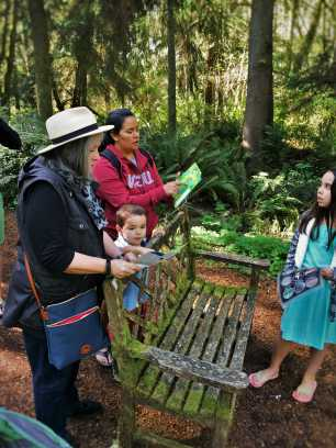 LittleMan and Friends at Bloedel Reserve Bainbridge Island 1