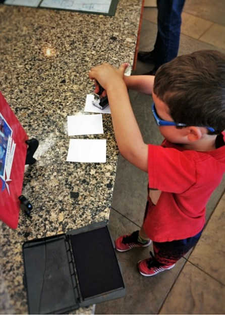 LittleMan at Kennesaw Mountain National Battlefield with National Parks Passports 2traveldads.com