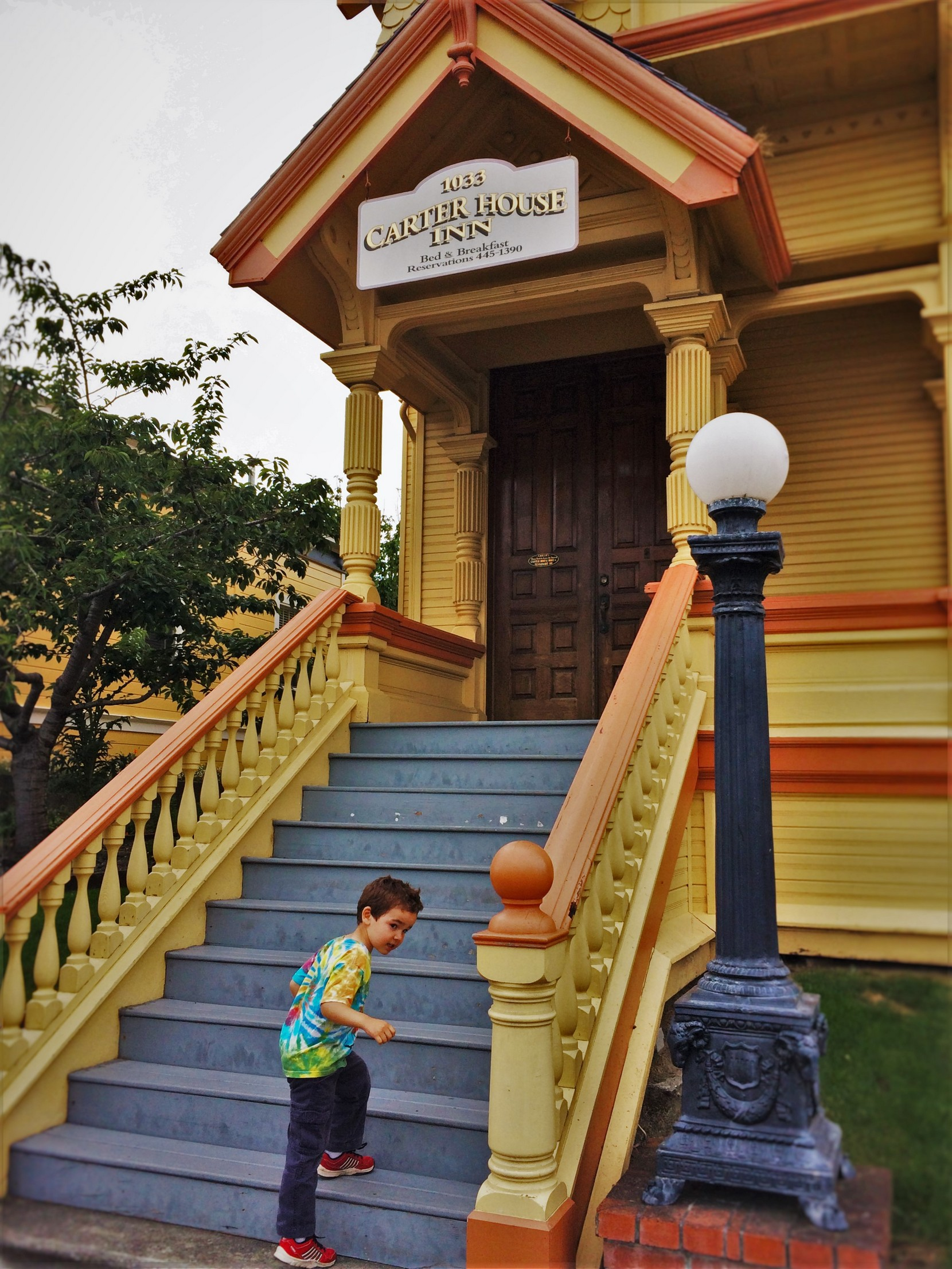 LittleMan at Original Carter House Inn Eureka 1
