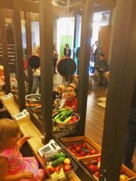 LittleMan in market area at Childrens Museum of Denver 3