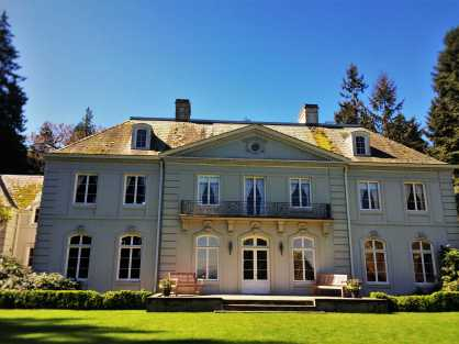 Mansion at Bloedel Reserve Bainbridge Island 1