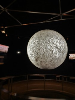 Moon display in Space Odyssey in Denver Museum of Science and Nature 1