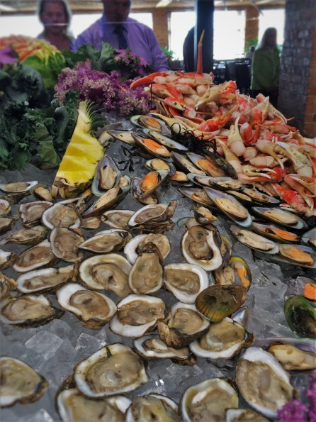 Seafood Buffet at Easter Brunch in Garden Terrace at Inverness Hotel Denver Colorado 1
