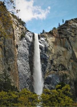 Bridal Veil Falls in Yosemite National Park 2traveldads.com