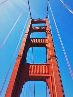 Crossing the Golden Gate Bridge from Welcome Center GGNRA 2