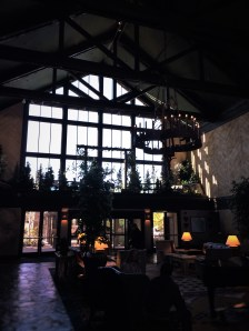Grand Lobby at Tenaya Lodge Yosemite 3
