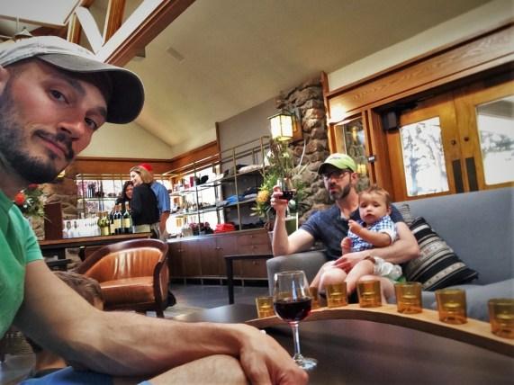 Taylor Family at Wine Reception at Bodega Bay Lodge 2