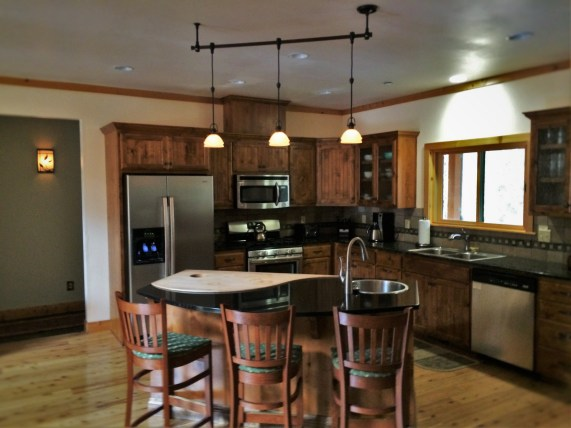 Kitchen of John Muir House at Evergreen Lodge at Yosemite National Park 1