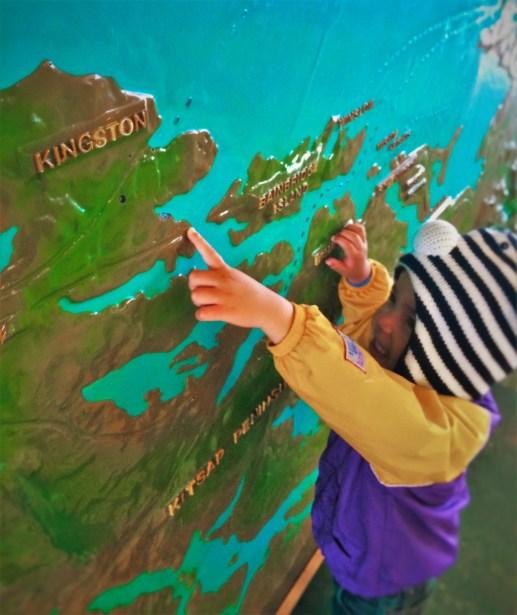 LittleMan Kitsap Map Ferry