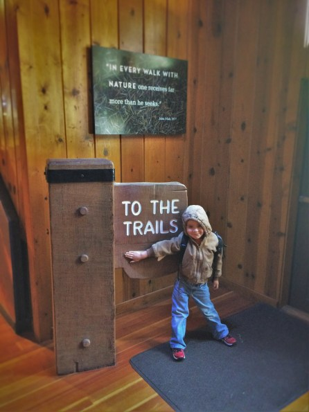LittleMan in Museum in Giant Forest in Sequoia National Park 2