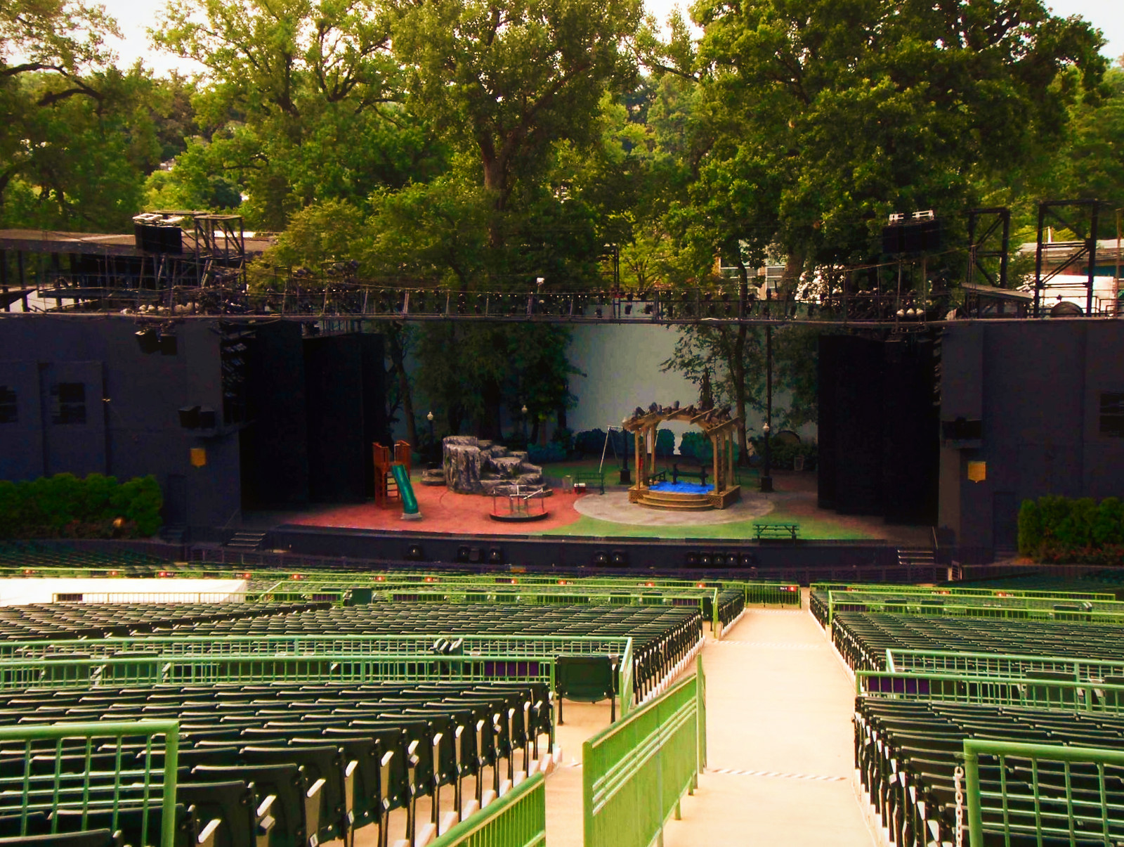 Muny Theater Forest Park St Louis